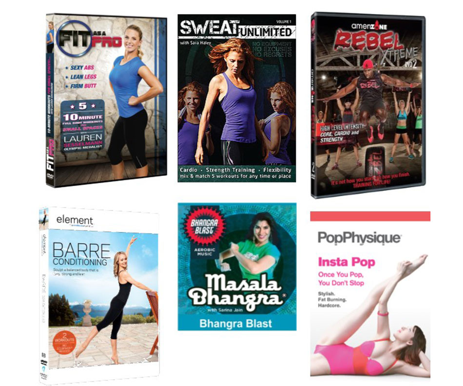 7 combined workout dvds