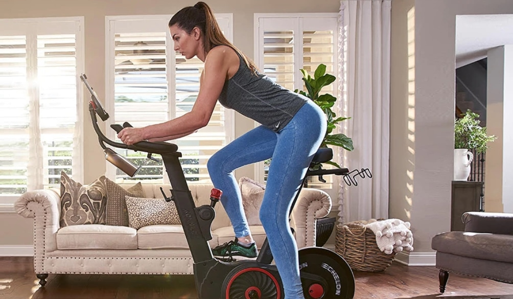 biggest competitors to the Peloton exercise bike